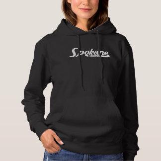 Spokane Washington Vintage Logo Hoodie