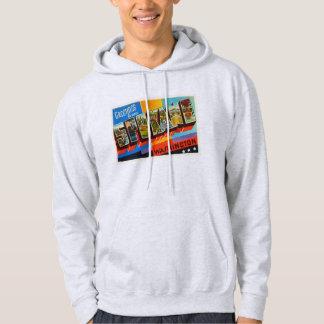 Spokane Washington WA Old Vintage Travel Souvenir Hoodie