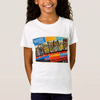 Spokane Washington WA Old Vintage Travel Souvenir T-Shirt