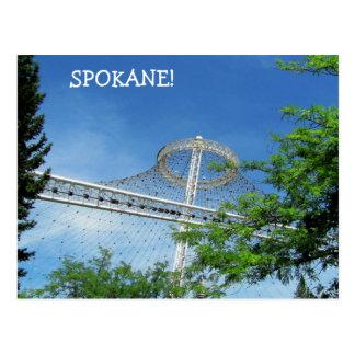 Spokane's US Pavilion Post Card