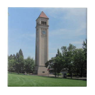Spokanes's Iconic Clock Tower Tile