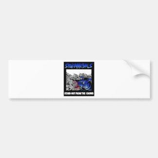 spokannibals stand out bumper sticker