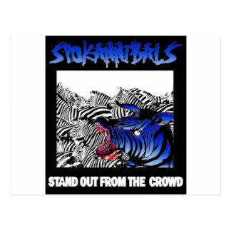 spokannibals stand out postcard