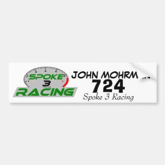spoke 3 Final, tack, JOHN MOHRMAN, 724, Spoke 3... Bumper Sticker