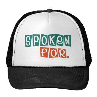 Spoken For Trucker Hat