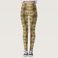 Spoken Word Ladies Deluxe Leggings