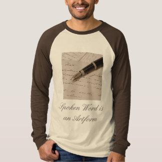 Spoken Word - Raglan Long T-Shirt