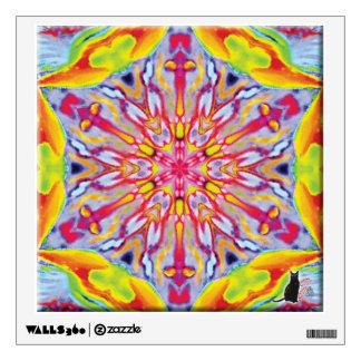 Spokes Kaleidoscope Wall Decal
