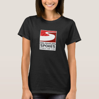 Spokes Logo Dark T-Shirt: Women T-Shirt