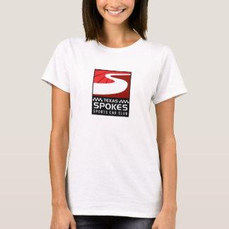 Spokes Logo White T-Shirt: Women T-Shirt