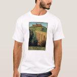 Spoleto Umbria Italy Vintage Travel Poster Art T-Shirt