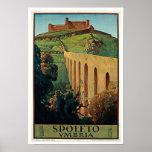 Spoleto, Umbria Poster