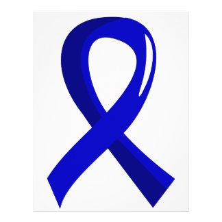 """Spondylitis Ankylosing Blue Ribbon 3 Folleto 8.5"""" X 11"""""""