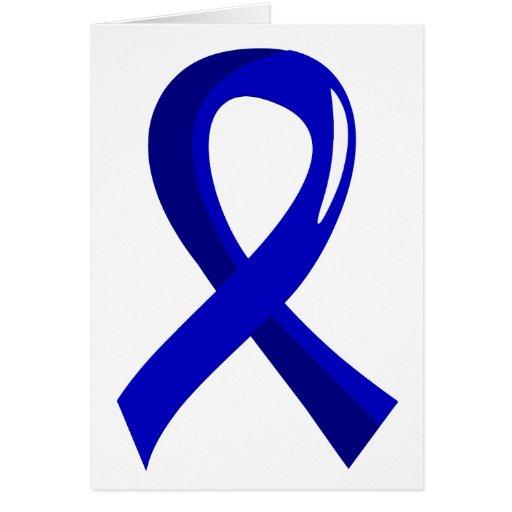 Spondylitis Ankylosing Blue Ribbon 3 Tarjetas