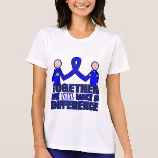 Spondylitis Ankylosing juntos haremos un Dif Camisetas
