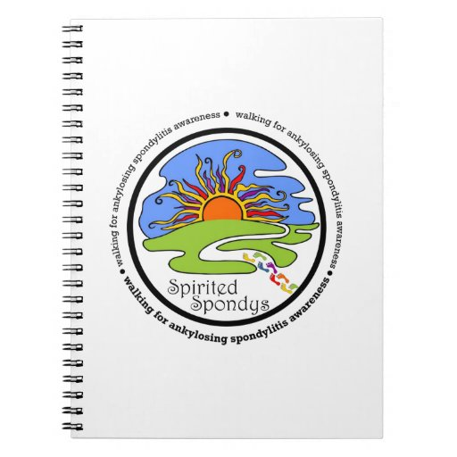 Spondys enérgico libro de apuntes con espiral