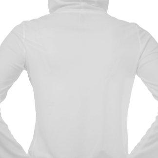 sponge,beige hooded pullover