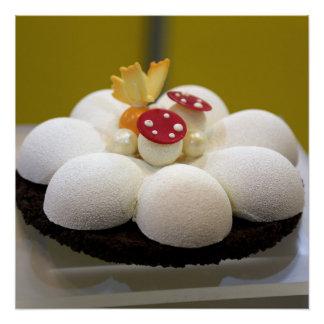 Sponge cake poster