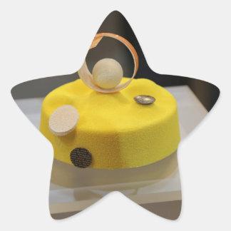 Sponge cake stickers