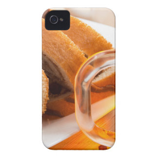 Sponge cake with chocolate filling Case-Mate iPhone 4 case