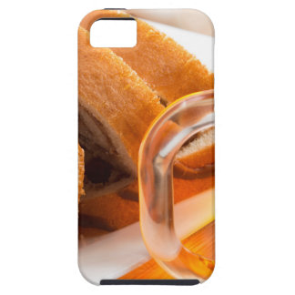 Sponge cake with chocolate filling iPhone SE/5/5s case