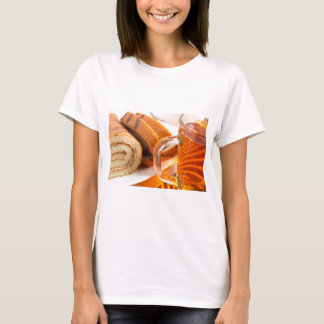 Sponge cake with chocolate filling T-Shirt