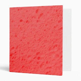 sponge,pink 3 ring binders