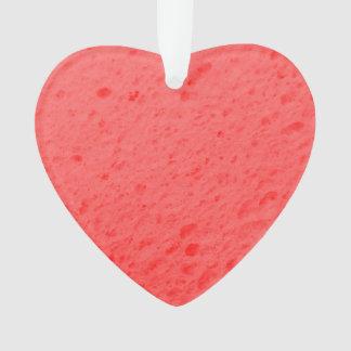 sponge,pink ornament