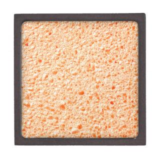 Sponge surface gift box