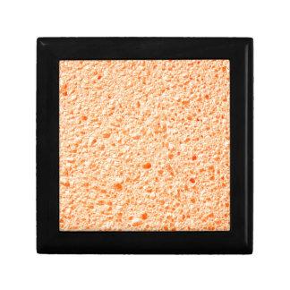 Sponge surface jewelry box