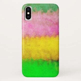 Sponged Paint iPhone X Case