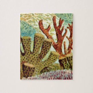 sponges and coral jigsaw puzzle