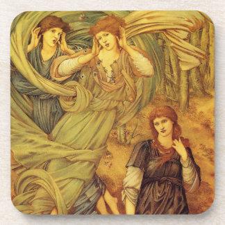 Sponsa de Libano Fine Art Beverage Coaster