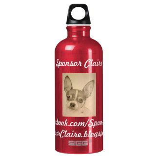 Sponsor Claire Aluminum Water Bottle