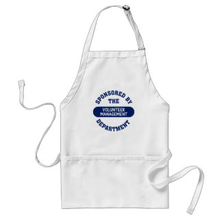 Sponsored by the Volunteer Management Department Adult Apron