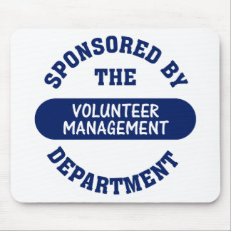 Sponsored by the Volunteer Management Department Mouse Pad