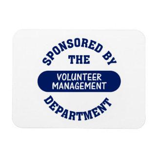 Sponsored by the Volunteer Management Department Rectangular Photo Magnet