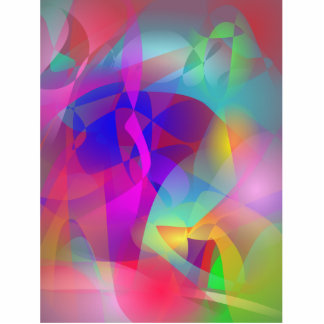 Spontaneous Abstract Art Statuette