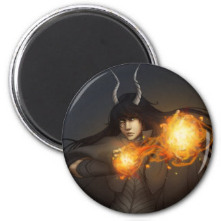 Spontaneous Combustion 2 Inch Round Magnet