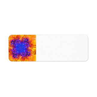 Spontaneous Combustion Custom Return Address Labels