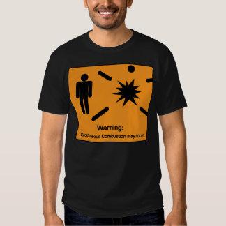 Spontaneous Combustion T Shirt