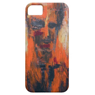 Spontaneous Human Combustion (abstract  portrait) iPhone SE/5/5s Case