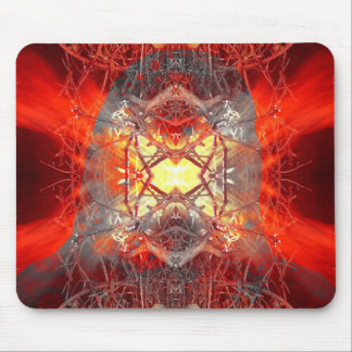 Spontaneous human combustion mouse pad
