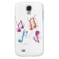 Spontaneous Music Galaxy S4 Cases