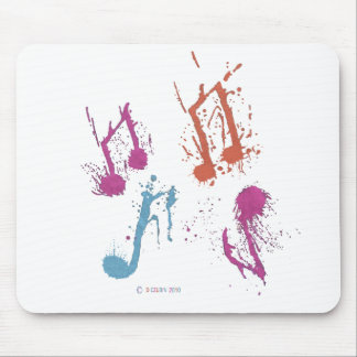 Spontaneous Music Mouse Pad