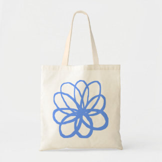 Spontanious Flower - Baby Blue Tote Bag