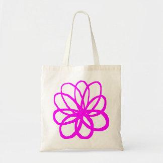 Spontanious Flower - Magenta Tote Bag