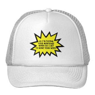 Spoof anti Obama mortgage Trucker Hat
