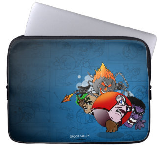 Spoof Balls™ Four Horsemen Laptop Sleeve