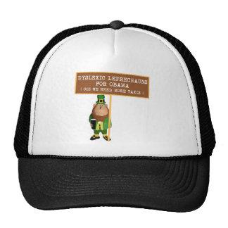 Spoof dyslexic anti Obama Trucker Hat